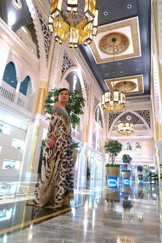 Kaftan-ing it in Dubai