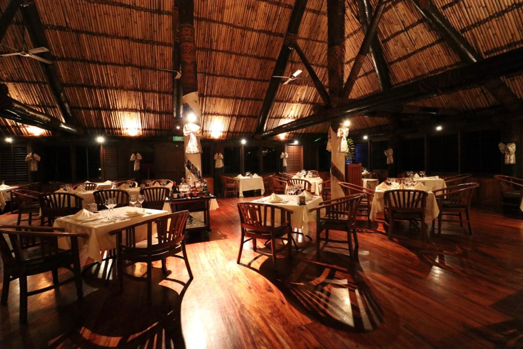 Ivi Restaurant, Outrigger Fiji Resort