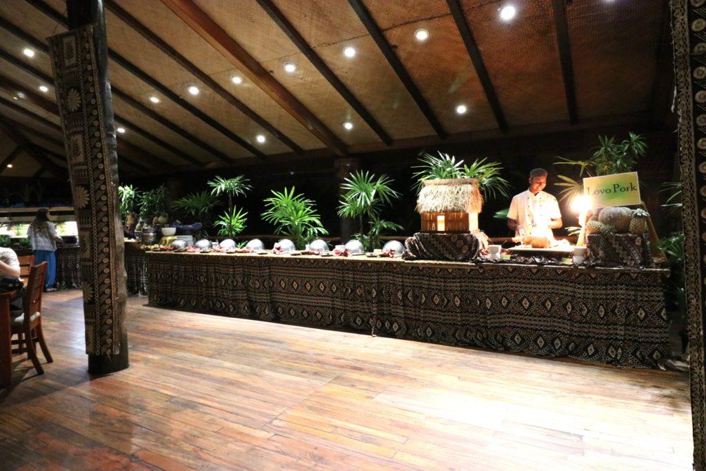 Vale Ni Kana Buffet restaurant, Outrigger Fiji Resort