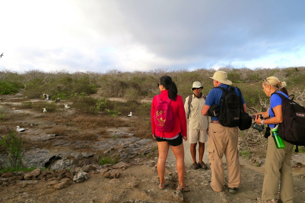 What to Pack for the Galpagos: Bring a lightweight backpack!