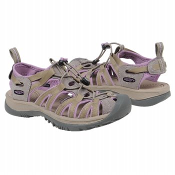 Keens Womens Whisper Sandals in Orchid - the exact ones I'm wearing