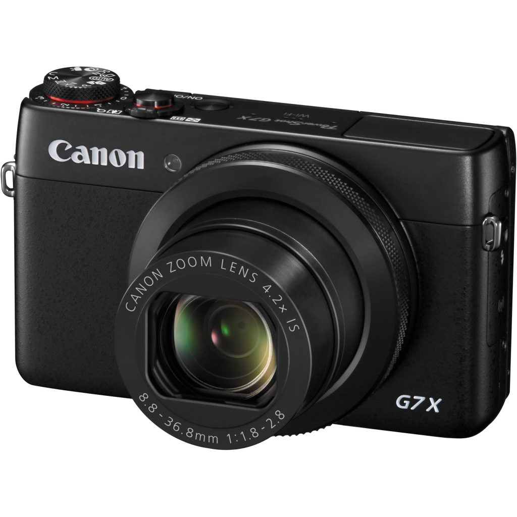The Canon G7X - compact and powerful