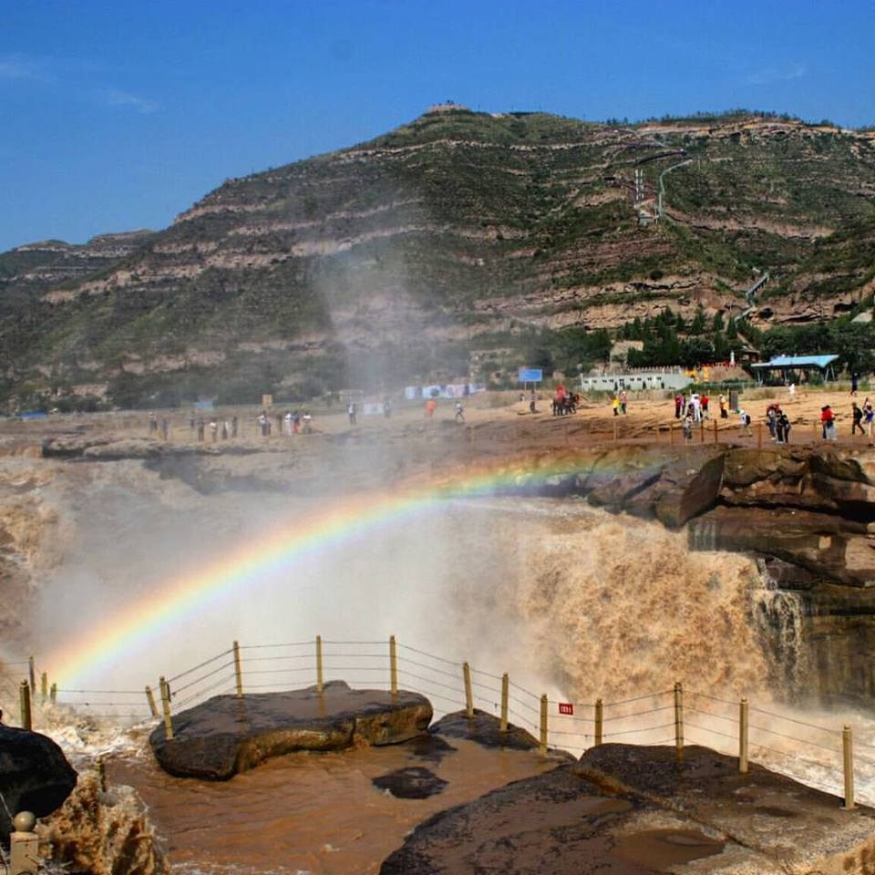 Visit the Hukou Waterfall and Yellow River