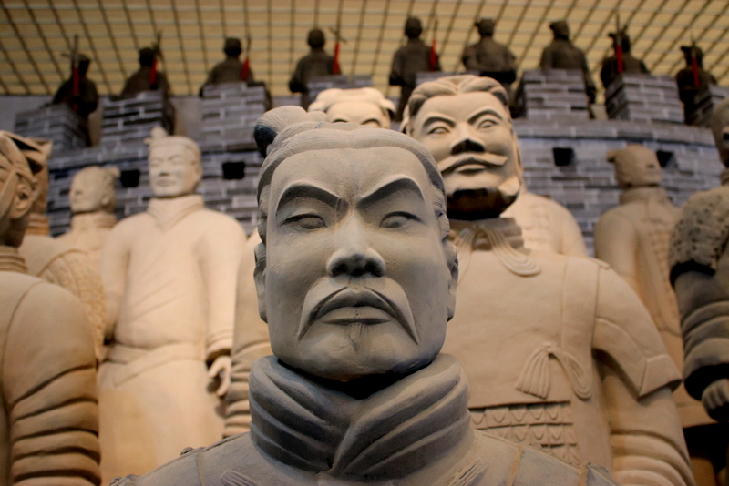 Visiting the Terracotta Warriors in Xian, China