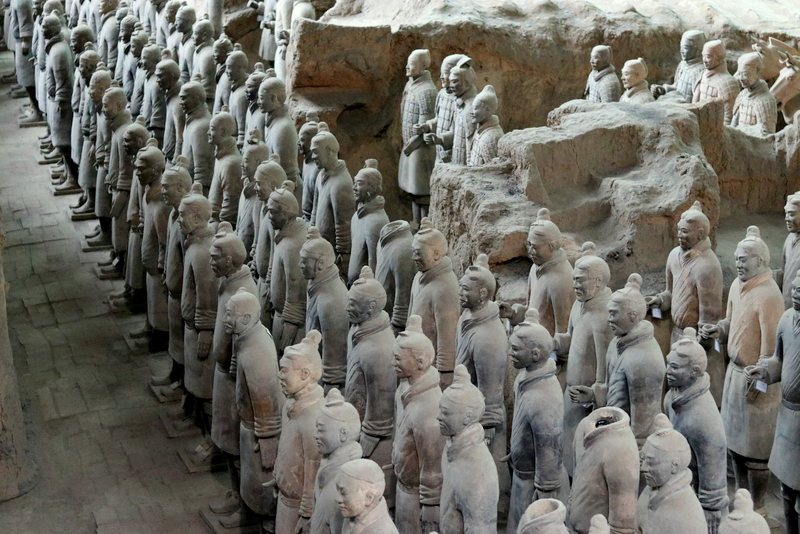 The Terracotta Soldiers of Xian