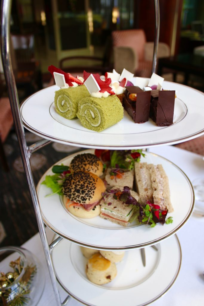 High Tea at the Lobby Lounge and Terrace of the Shangri-la Hotel Sydney