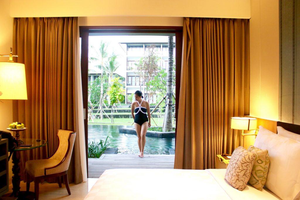 Premium Lagoon Access Room at the ANVAYA Bali