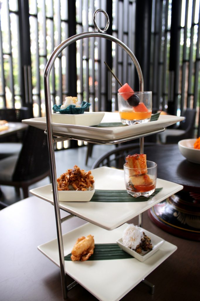 Balinese Afternoon Tea at Kunyit, ANVAYA Bali