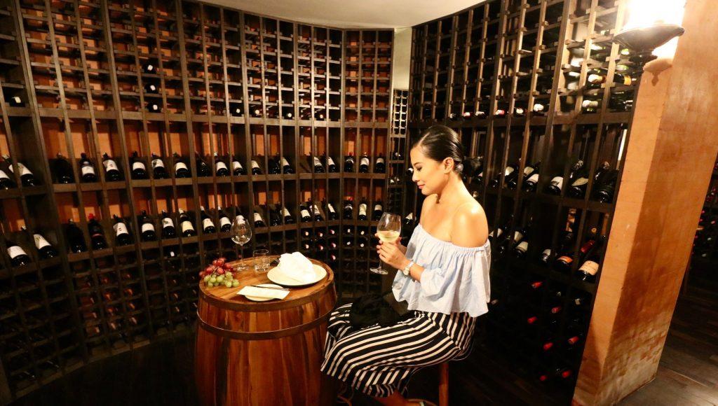 Wine Cellar at Sands ANVAYA Bali