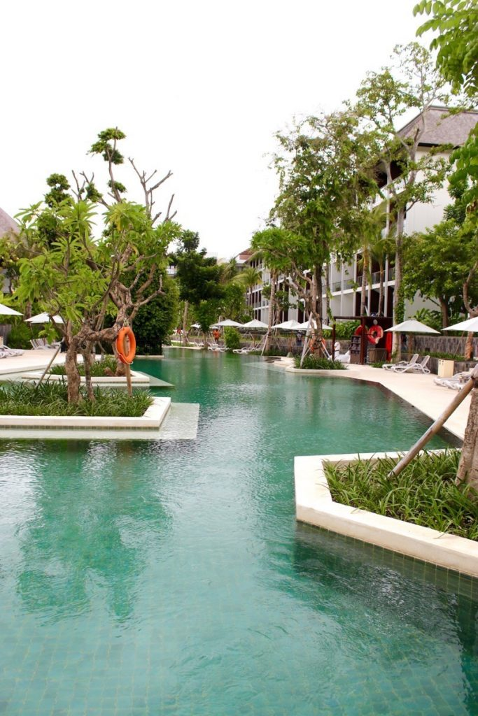 Main pool of the ANVAYA Bali
