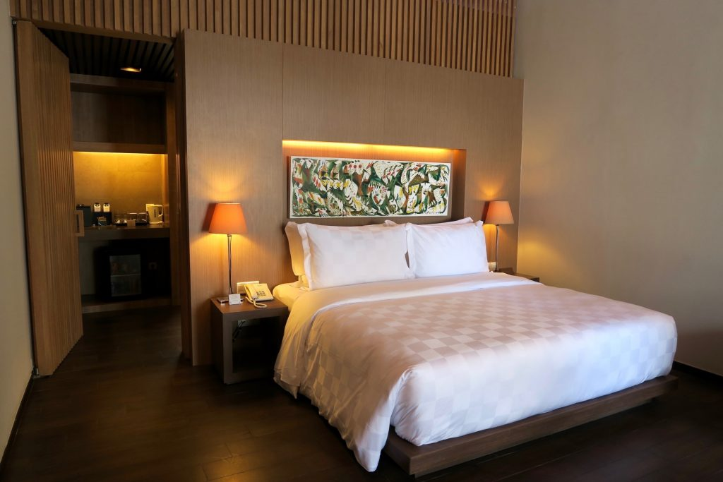 Bedroom of Beachfront Private Suites of the ANVAYA Bali