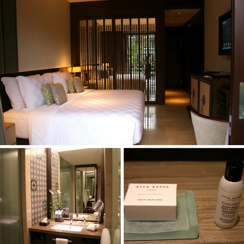 Room details of Premium Lagoon Access the ANVAYA Bali