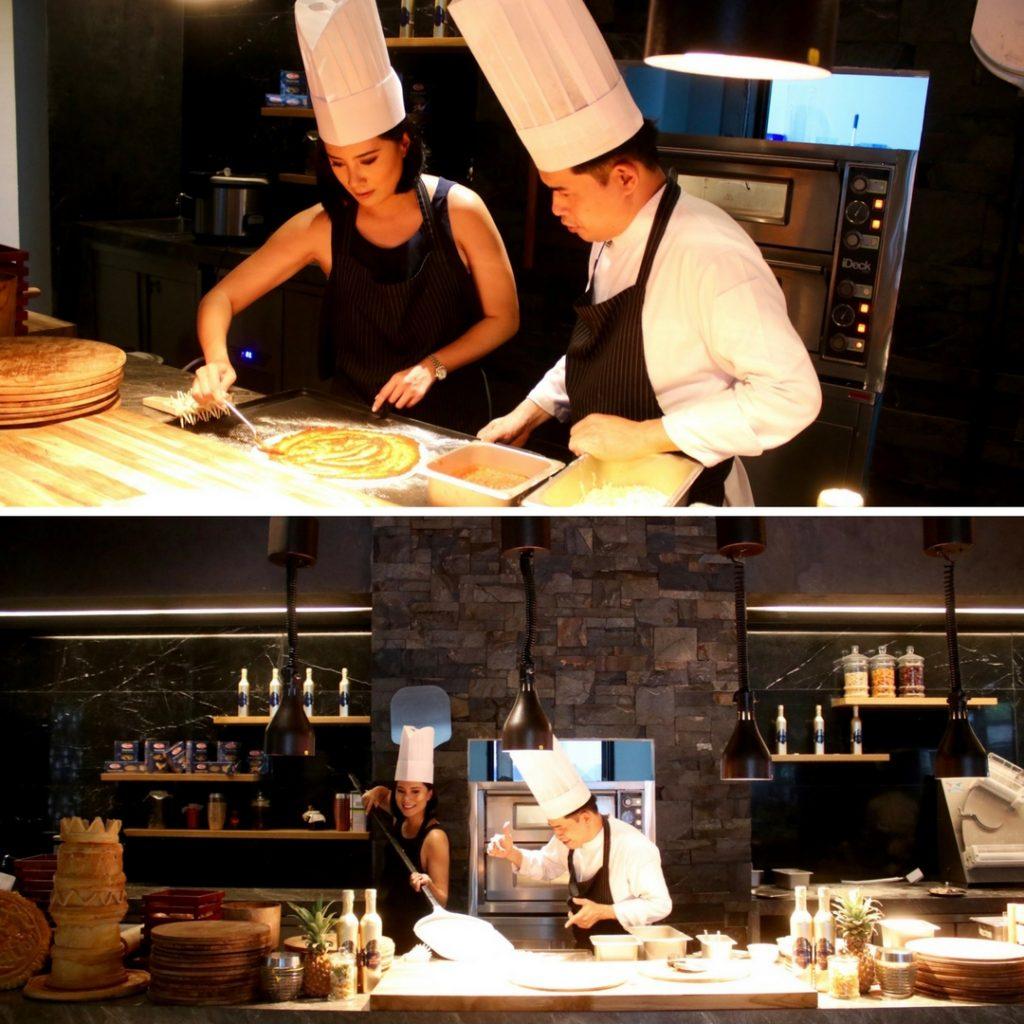 Interactive Brunch at Sands Restaurant, ANVAYA Bali