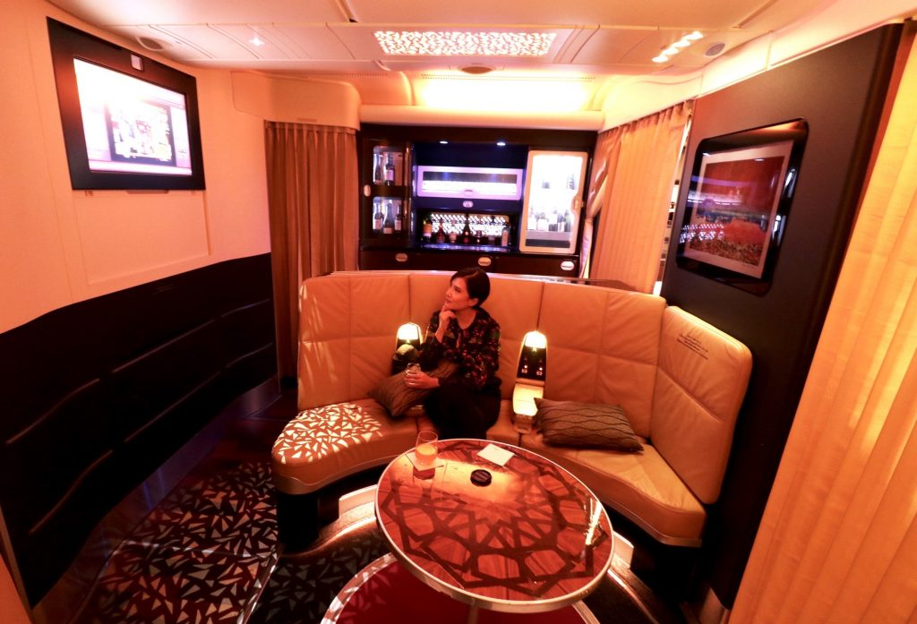 The Lobby - Etihad Airways A380 Business Class