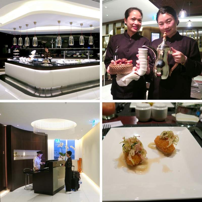 Etihad Airways First & Business Class Lounge in Sydney