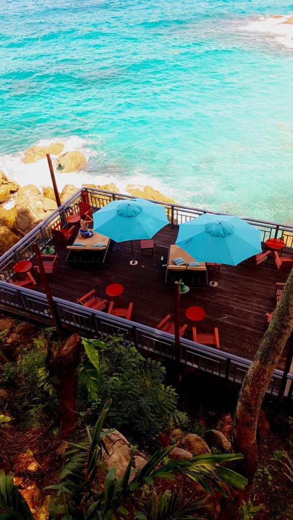 Part of Oceanview Bar & Restaurant, Hilton Seychelles Northolme