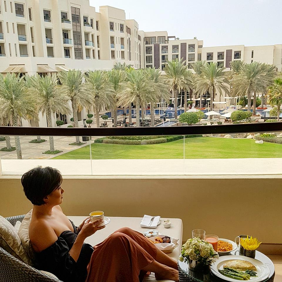 Balcony Brunch at the Park Hyatt Abu Dhabi