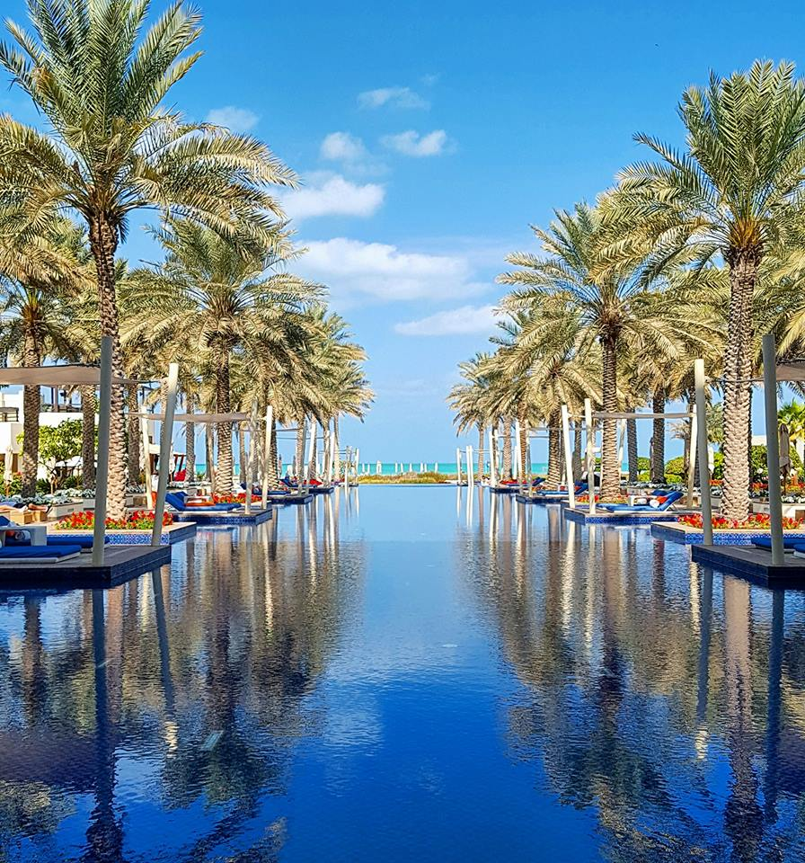 The Pool at Park Hyatt Abu Dhabi Hotel & Villas