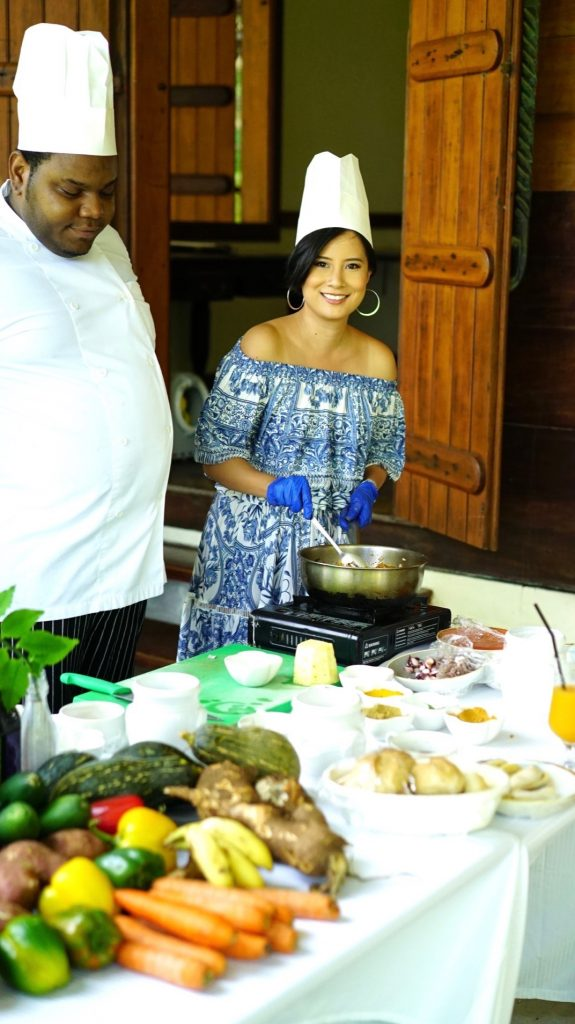 Creole Cooking Class at Grann Kaz, Hiltom Seychelles LaBriz