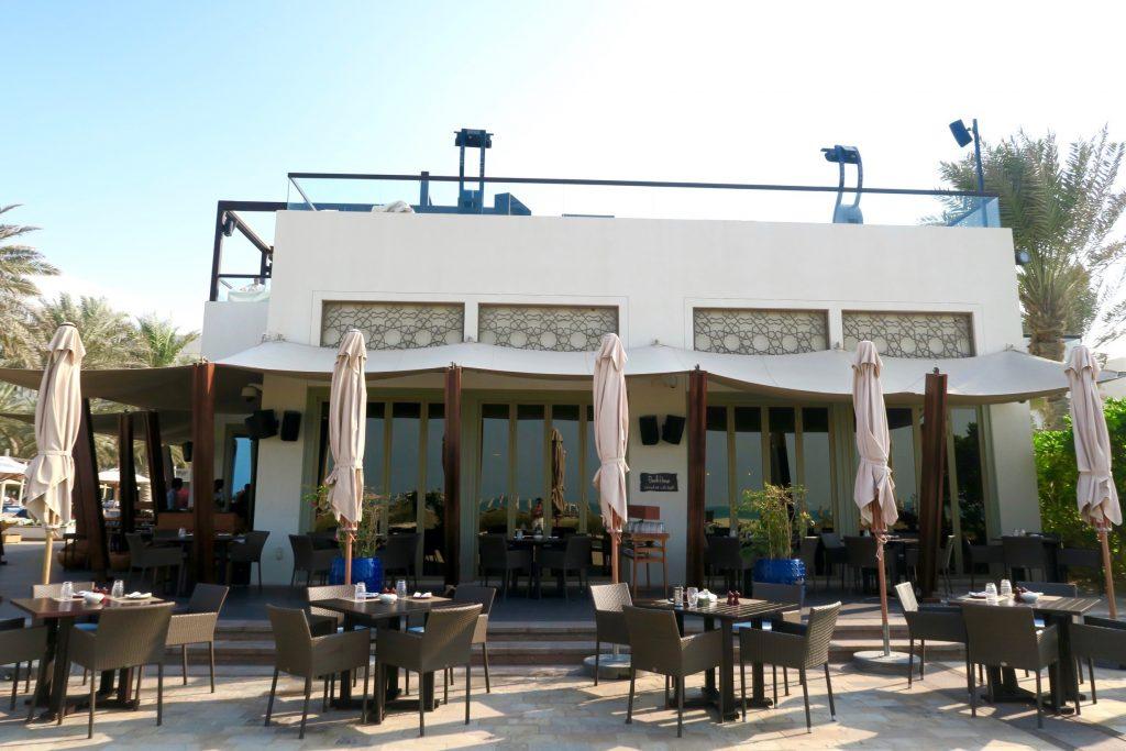 The Beach House Restaurant, Park Hyatt Abu Dhabi Hotel & Villas