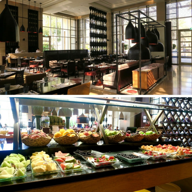 Breakfast at The Cafe, Park Hyatt Abu Dhabi Hotel & Villas