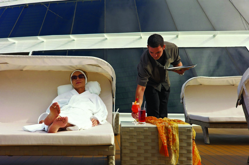 Oceania Cruises also focuses on health and wellness tours