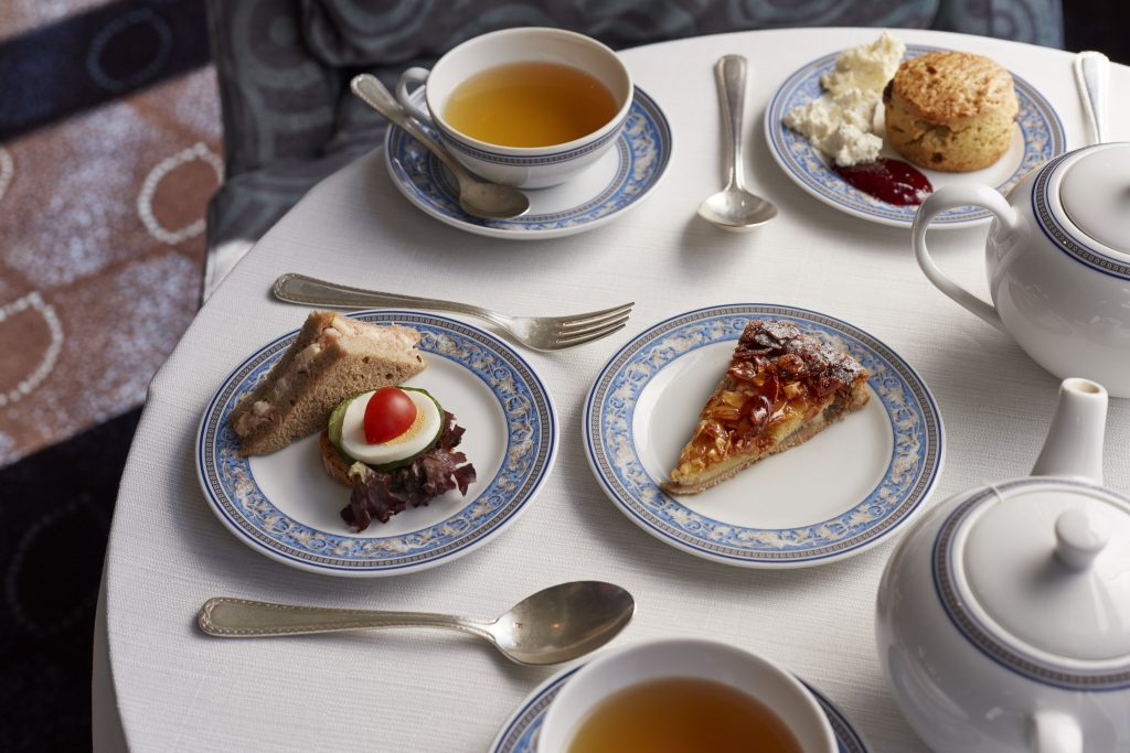 decadent afternoon tea at an Oceania Cruise