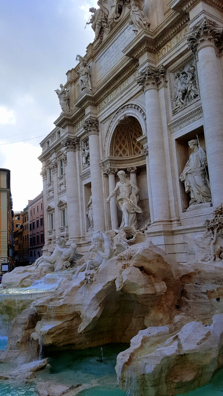 Trevi Fountain - one of the stops in The Roman Guy's walking and driving tour of Rome