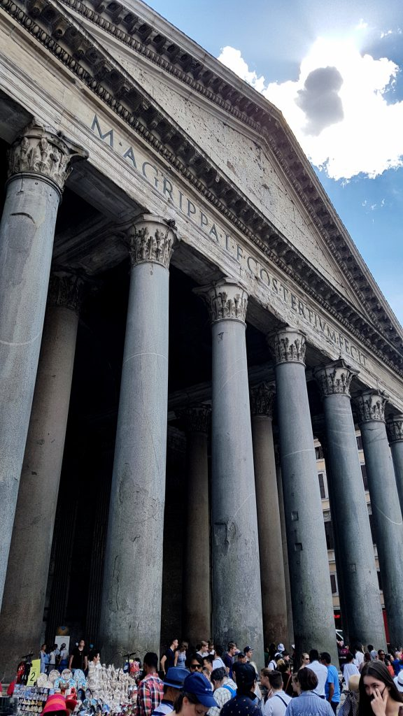 The Pantheon - one of the highlights of Rome
