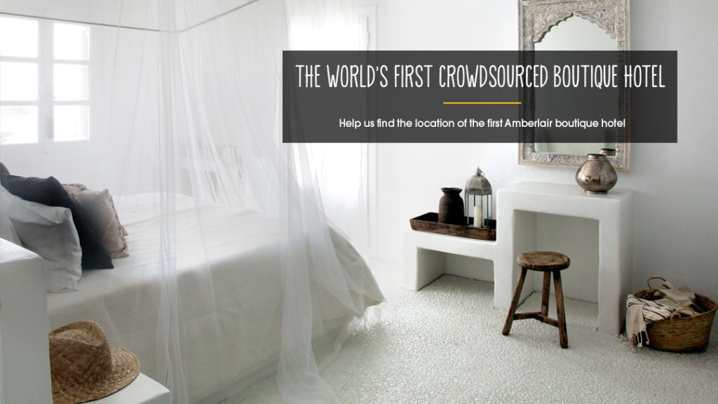 Where should the 1st crowdsourced boutique hotel be? We finally have the answer!