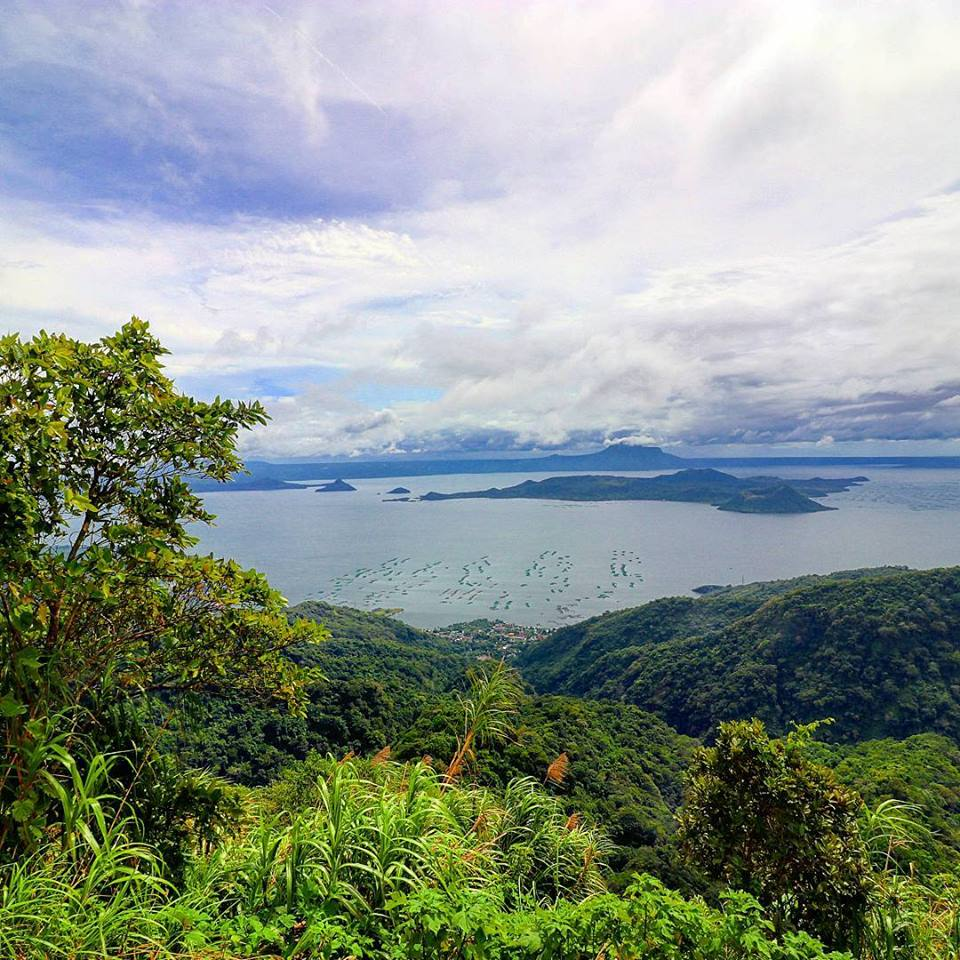 Taal Lake and Taal Volcano from Tagaytay