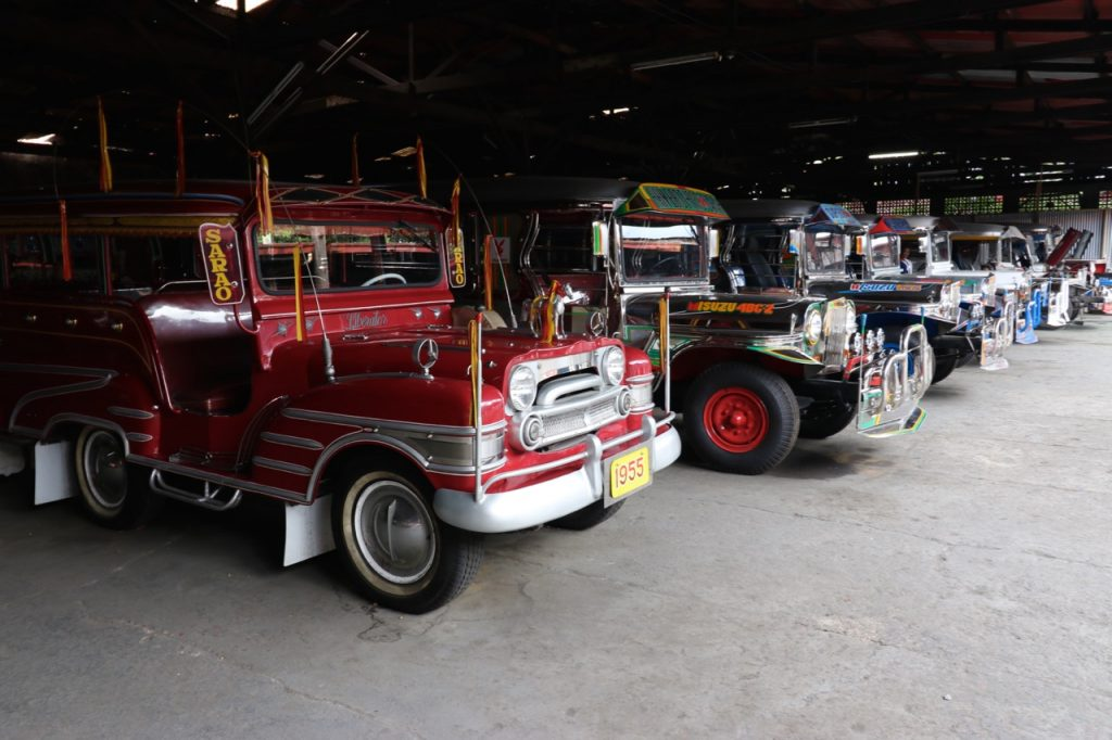 Jeepney factory - one of our stops on the way back to Manila