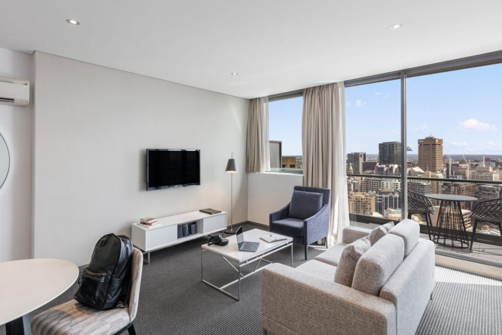 Meriton Luxury Apartments, Campbell St, Sydney
