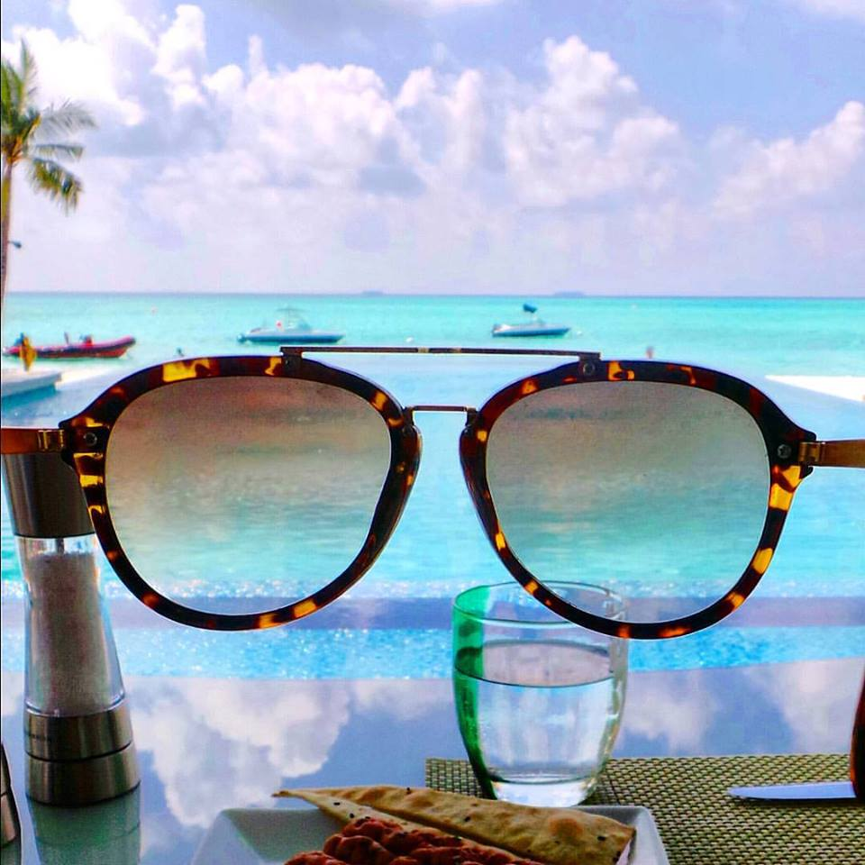 Enjoy the Maldives through rose-coloured glasses, but don't forget your SPF!