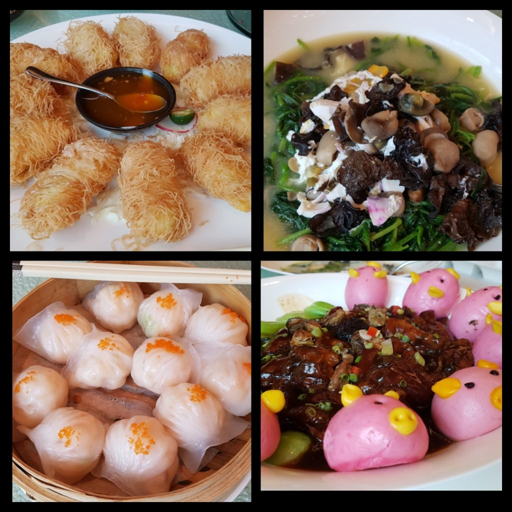some of the dim sum lunch dishes from Canton Road Shangri-la at the Fort, manila