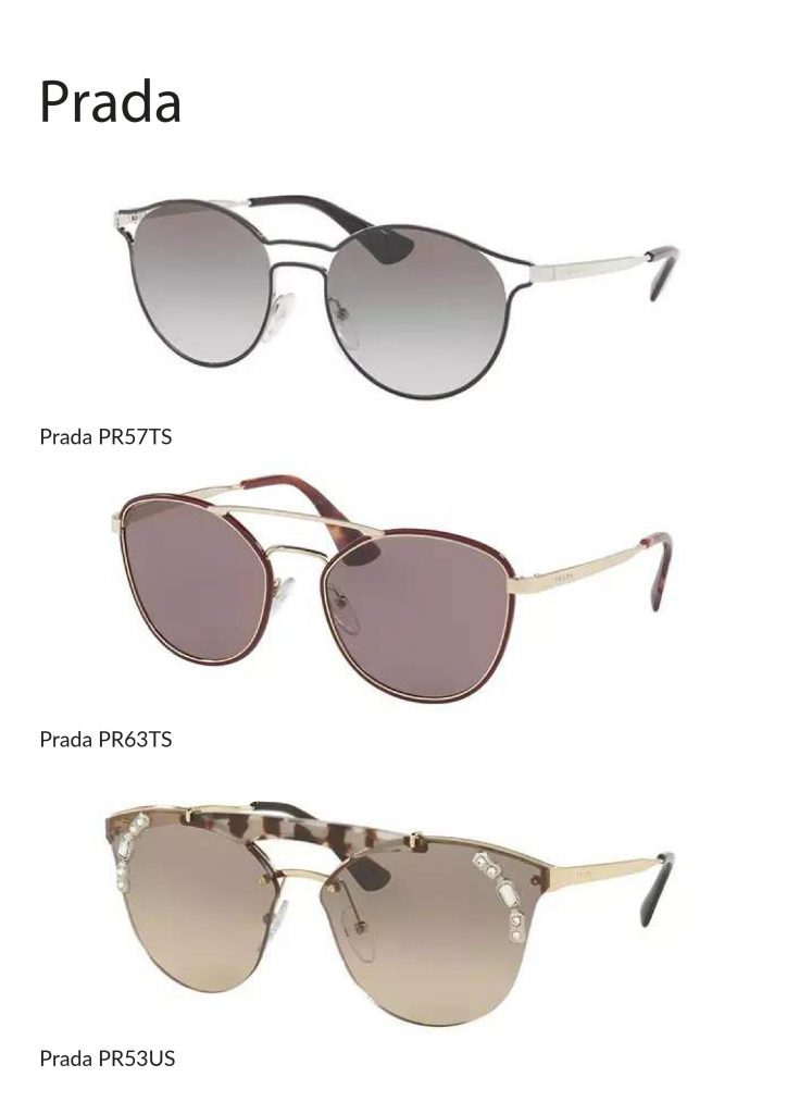 Choose from these 3 Prada Sunglasses - Holy Smithereens Birthday Giveaway 2019