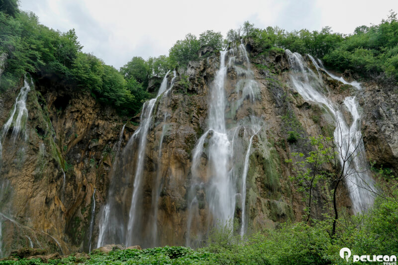 National Park Plitvice Lakes in Croatia is a UNESCO world natural heritage site