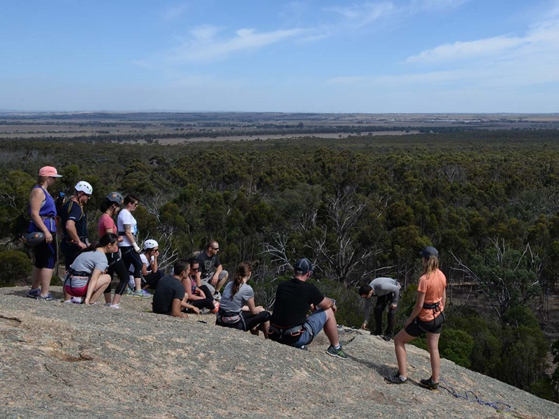 You Yangs Regional Park. Photo from visit melbourne