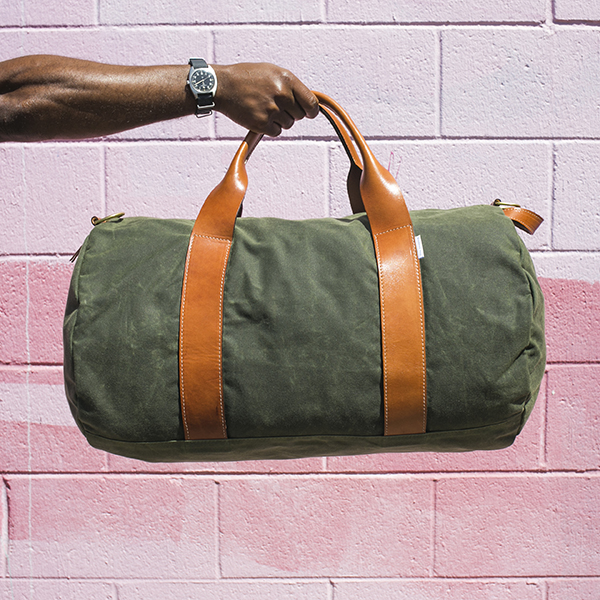 Voyager Waxed Weekender bag from BoardingPass- Holy Smithereens 2019 Birthday Giveaway