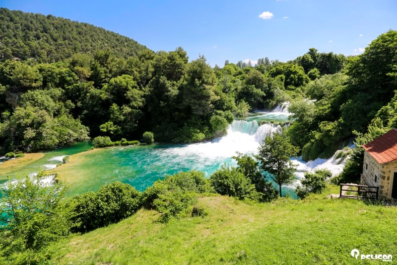 Krka National Park is a must-see destination from Split