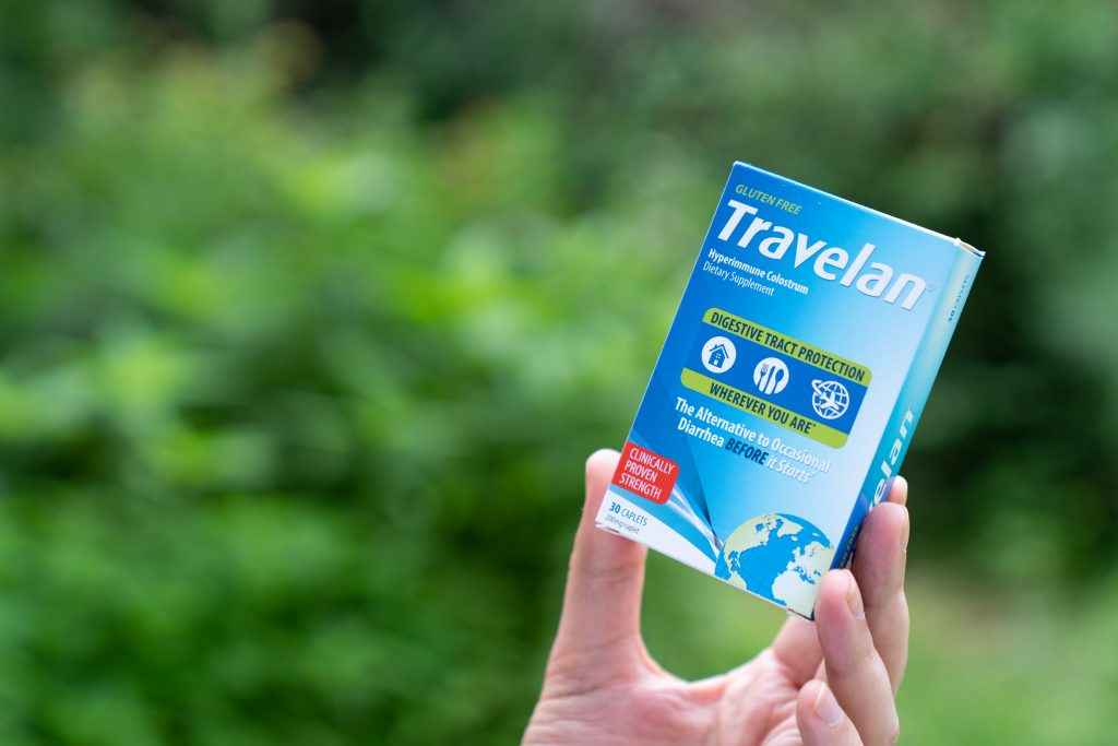 Finally found: the end to most travel tummy horror tales! Travelan