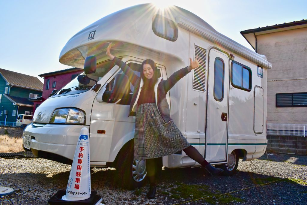 Carstay is the solution to Japan's road trip / campervan travellers