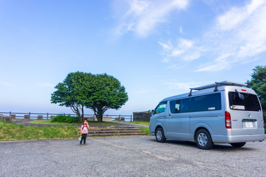 Driving in Campervans and RV's around Japan are becoming more popular, including visitors with young families.