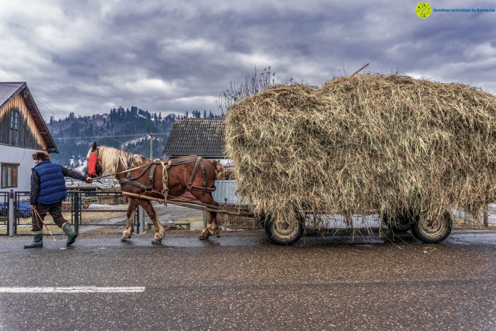 Bucovina is a perfect winter rural destination in Romania