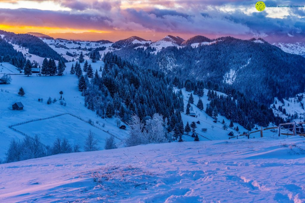 Enjoy winter in the mountains with Outdoor Activities in Roamania