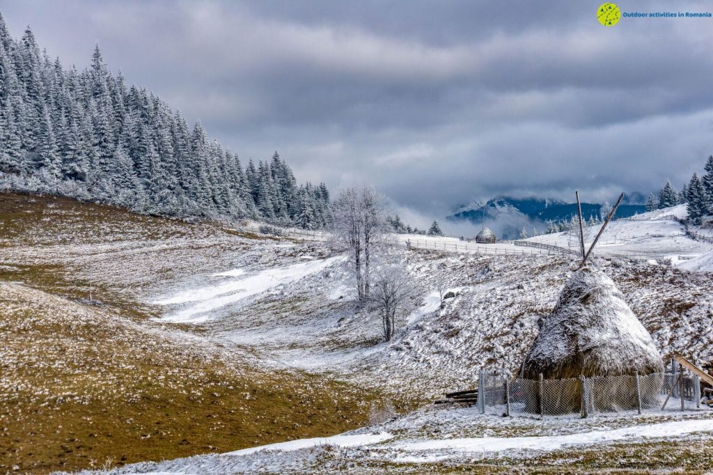 Translyvanian Countryside during winter