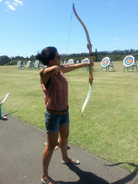 Have Bow and Arrow. Will Shoot for Fun!