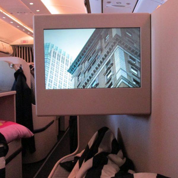 Etihad Business Class Service : London to Abu Dhabi