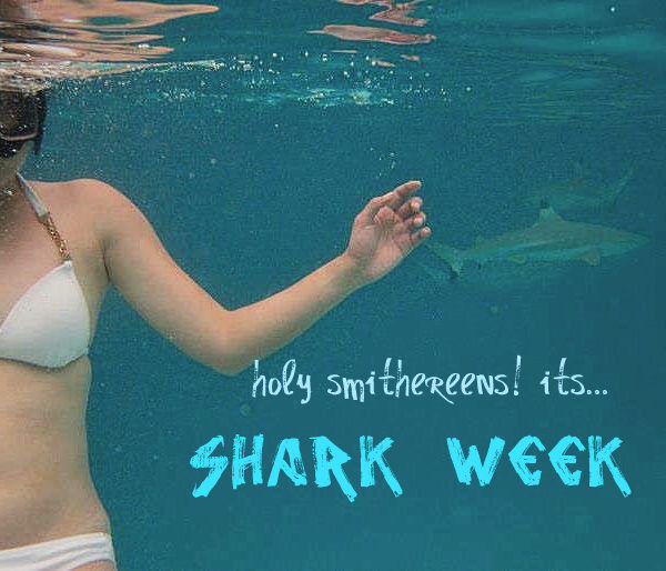 Aye Caramba! It's Shark Week!
