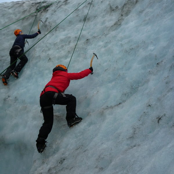 Glacier Hike and Ice Climbing in Iceland
